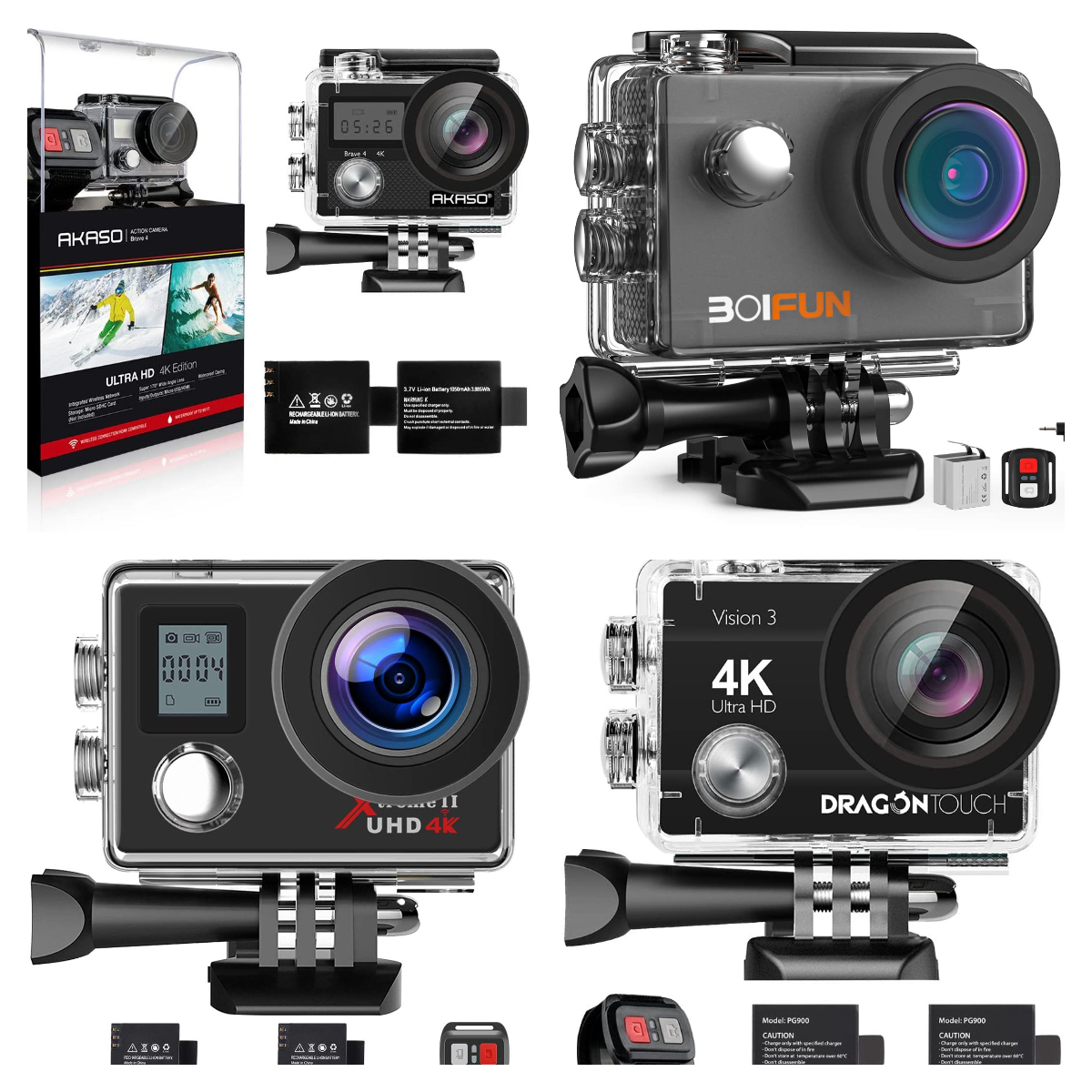 Best 4k Wi-Fi Sports Action Cameras