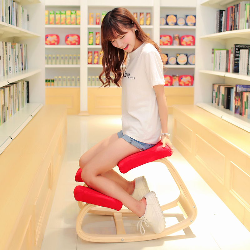 WOODEN-ERGONOMIC-KNEELING-CHAIR-IN-FOLDED-EXPORT-TO-JAPAN-AND-SO-ON